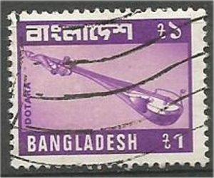 BANGLADESH, 1979, used  1ta, Dotara Scott 174
