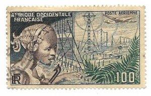 French West Africa 1954 - U - #C19 *