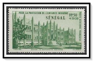 Senegal #CB2 Airmail Semi-Postal MH