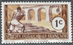French Equatorial Africa Scott #33 – MINT hr