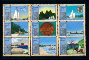 [71725] Marshall Islands 1988 Pacific Travel Stevenson Boats  MNH