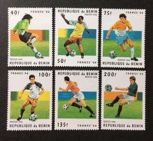 Benin 1996 #822-7, MNH, CV $4.90