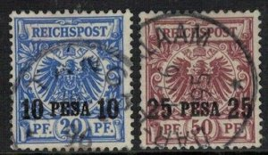 German East Africa SC 4-5 VFU (8eks)