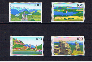GERMANY 1994 LANDSCAPES 2nd ISSUE U/M