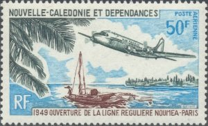 New Caledonia Scott #'s C69 MNH