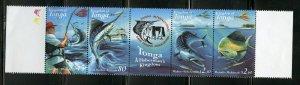 TONGA A FISHERMAN'S KINGDOM SET MINT NH