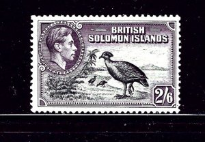 Solomon Is 77 MNH 1939 Birds