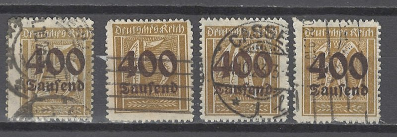 COLLECTION LOT # 4832  GERMANY #273-6  1923 CV+  18