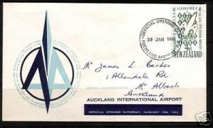 NEW ZEALAND 1966 AUCKLAND AIRPORT OFFICIAL OPENING