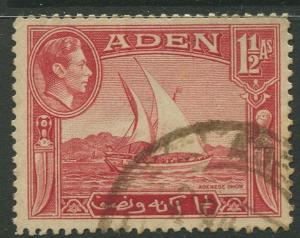 STAMP STATION PERTH Aden #19 KGVI Definitive Issue 1939 Used CV$0.65.