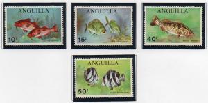 Anguilla 83-86 - Mint-NH - Fish (1969)