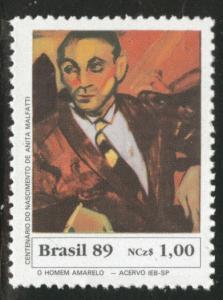 Brazil Scott 2227 MNH** 1989 Amarelo stamp