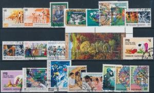 UN Vienna stamp 1987-1990 17 sets + 1 block  Used 1987 WS176701