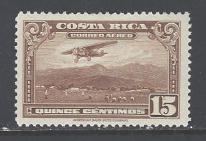 Costa Rica Sc # C17 mint hinged (RS)