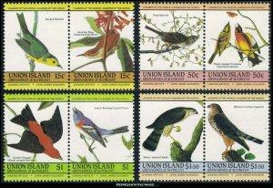 Saint Vincent Grenadines Union Island Scott 186 -189 Mint never hinged.