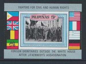 Philippines #MICHEL XIV BL I  NH Foreign Dignataries At White House After J.F...