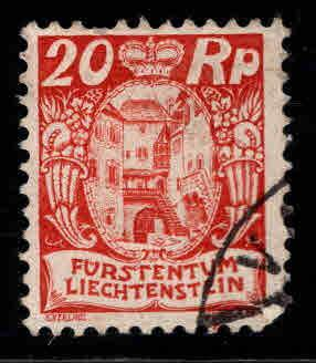 LIECHTENSTEIN Scott 79 Used stamp