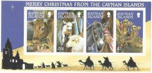 1995    CAYMAN ISLANDS  -  SG.  MS 815 -  CHRISTMAS -  MNH