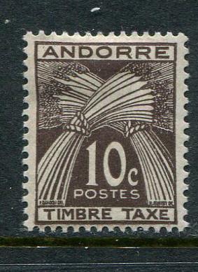 French Andorra #J32 Mint