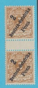 GERMAN EAST AFRICA 6a MNH / MH OG *TAB PAIR BOTTOM STAMP MNH NO FAULTS VERY FINE