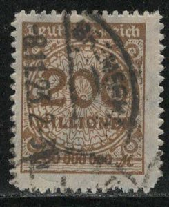 Germany Reich Scott # 304, used, exp h/s