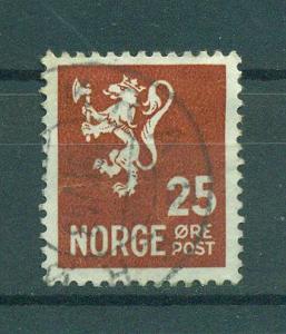 Norway sc# 197 used cat value $.25