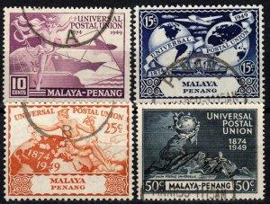 Malaya Pahang #46-9   F-VF Used CV $7.25  (X1334)