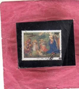 ITALIA REPUBBLICA ITALY REPUBLIC 1997 NATALE CHRISTMAS NOEL WEIHNACHTEN NAVID...