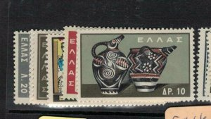 Greece SC 708-15 Less 713 MNH (6edq)