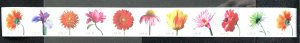 US MNH #4166-4175 (2-4175) Coil PNC11 Beautiful Blooms SCV $25.00