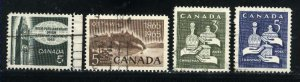 Can #441-44   u   VF 1965 PD