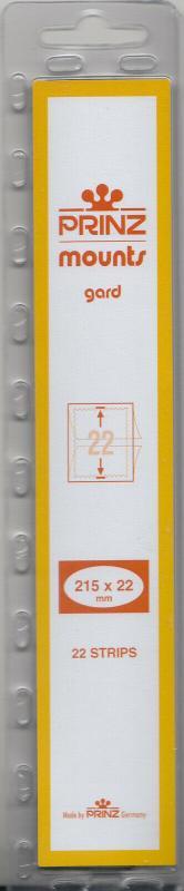 PRINZ BLACK MOUNTS 215X22 (22) RETAIL PRICE $7.99