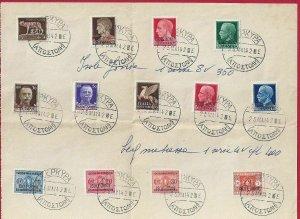 1941 Montenegro Occ. Italian, N° 15/23 +T 6/8 10 13 Values Su Fragment