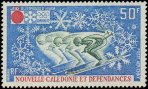 1972 New Caledonia  #C86, Complete Set, Never Hinged