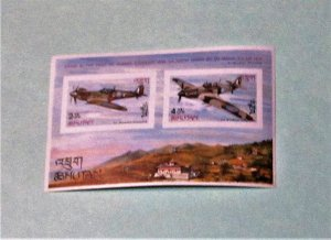 Bhutan - 88A-88B, S/S of Two. Winston Churchill. SCV - $6.50