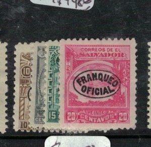 El Salvador SC O29-32 MOG (6eej)