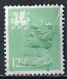 Great Britain, Regional, Wales; 1984: Sc. # WMMH20: O/Used Single Stamp