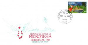 Micronesia, Worldwide First Day Cover, Christmas