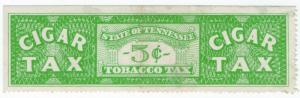 (I.B) US Revenue : Cigar Tax 5c (Tennessee)