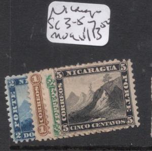 Nicaragua SC 3-5, 7 MOG (10dmp)