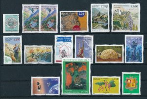 French Andorra 2003 Complete year set  MNH