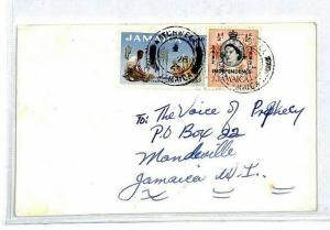 Jamaica 1963 Watchwell Voice of Prophecy Cover {samwells-covers} CS103