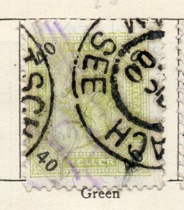 Austria 1899 Early Issue Fine Used 40h. NW-11518