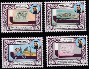 Qatar 850-853 MNH (1994)