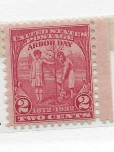 United States, 717, Arbor Day Single, MNH