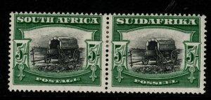 SOUTH AFRICA SG38 1927 5/= BLACK & GREEN MTD MINT