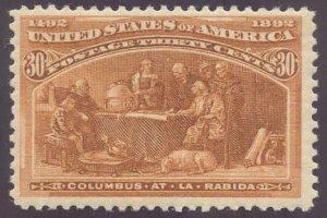 US Scott #239 Mint, VF, NH, PSE