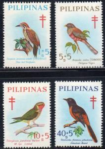 Philippines B36-39 - Mint-NH - Birds (1969) (cv $3.75)
