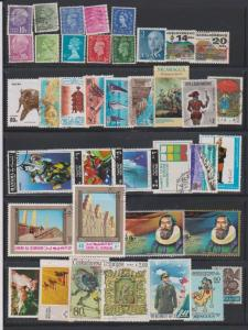 LOT OF DIFFERENT STAMPS OF THE WORLD USED (39) LOT#111