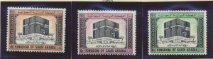 Saudi Arabia Stamps Scott #344 To 346, Mint Never Hinged - Free U.S. Shipping...